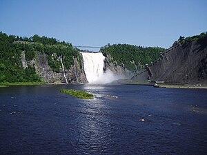 Montmorency River - Montmorency Falls
