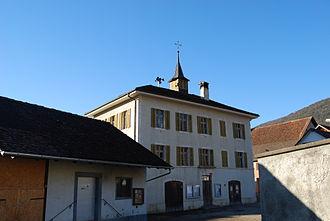 Montsevelier - Buildings in Montsevelier