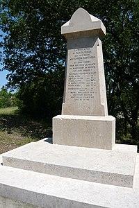 Monument des Maquisards D46a Valdonne Peypin Bouches-du-Rhône (France).JPG