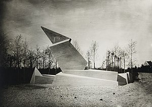 Walter Gropius - Walter Gropius's Monument to the March Dead (1921) dedicated to the memory of nine workers who died in Weimar resisting the Kapp Putsch