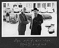 Mordechai Zev Wolfson with Reuven Aharonovich. 1965 (YBZ.0464.038).jpg