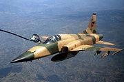 Moroccan F-5 jet