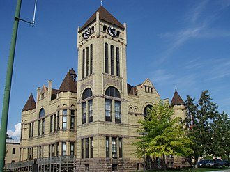 Morrison County, Minnesota - Image: Morrison Co Courthouse 1