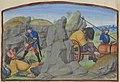 Mort de Grimault - Transport du corps de Grimault (BNF ms fr 24383, fol 36r Roman de Melusine-Coudrette).jpg