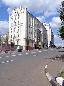 Народная улица 8 и 4 вид в сторону