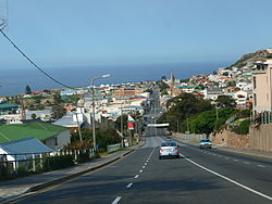 Mossel Bay, Downtown