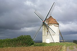 Eighteenth-century windmill