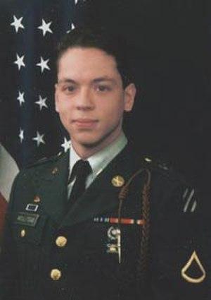 """Markos Moulitsas - Markos """"Kos"""" Moulitsas in the U.S. Army"""