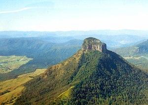 McPherson Range - Mount Lindesay and Palen Creek