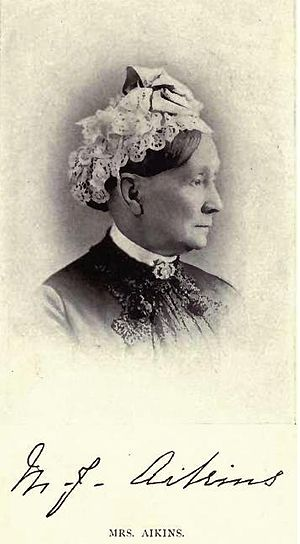 James Cox Aikins - Mrs Mary Elizabeth Jane Aikins by Mrs Carr