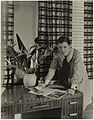 Mrs Mollie Grey, interior decorator, Greenknowe Avenue, Potts Point, Sydney, ca. 1935- photographer Harold Cazneaux (7779447182) (2).jpg