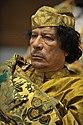 Muammar al-Gaddafi at the AU summit-LR