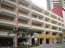 Multi-storey car park in a Housing and Development Board estate, Singapore - 20060315.jpg