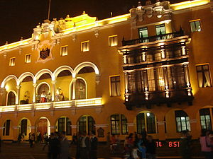 Lima Province - Municipal Palace, headquarters of the Municipality