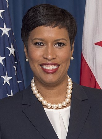 Mayor of the District of Columbia - Image: Muriel Bowser official photo (cropped)