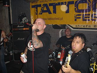Murphy's Law (band) - Murphy's Law live in 2007
