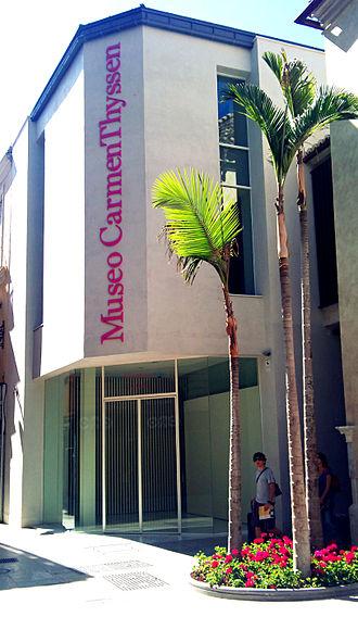 Carmen Cervera - Museo Carmen Thyssen (Málaga).