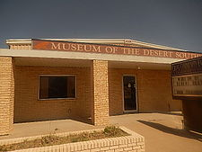 The Museum of the Desert Southwest has exhibits on authors Elmer Kelton and Paul Patterson, both with roots in Crane.