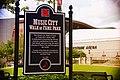Music City Walk of Fame Park sign, Nashville.jpg