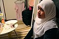 Muslim girl in a white tudung - 20100718.jpg