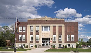 Musselshell County, Montana - Image: Musselshell county courthouse
