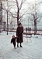 Nő és gyerek, 1943 Budapest. Fortepan 25804.jpg