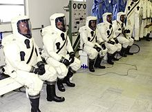 Hazmat suit - Wikipedia