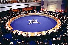 NATO 2002 Summit in Prague.