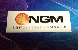 New Generation Mobile - Image: NGM logo