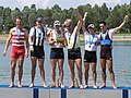 NSW Rowing Championships 2006 (cropped) Tim Smith second from right.jpg