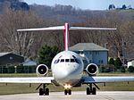 NWA DC-9 taking the active, LSE (293088331).jpg