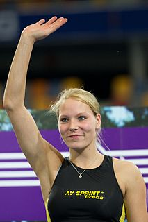Nadine Broersen Dutch track and field athlete