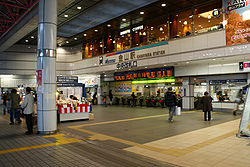 Nagoya Railroad - Kanayama Station - Ticket Gate - 01.JPG