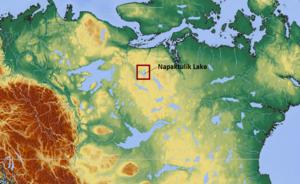 Napaktulik Lake - Image: Napaktulik Lake