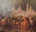 Napoleon in burning Moscow - Adam Albrecht (1841) 2 crop.jpg