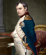 Napoleonbonaparte coloured drawing