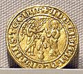 Napoli, carlo d'angiò, oro, 1278-1285, 02.JPG