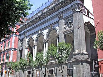Cosimo Fanzago - Facade Santa Maria della Sapienza.
