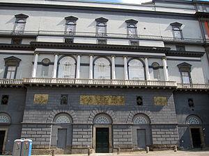 Antonio Niccolini (architect) - Facade of Teatro San Carlo