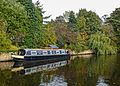 Narrowboat Escape in the Calder and Hebble Navigation, Mirfield (10632393975).jpg