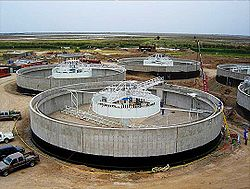 Nasiriyah water treatment plant