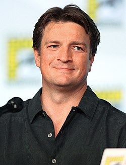 Nathan Fillion a 2012-es San Diego Comic-Con-on