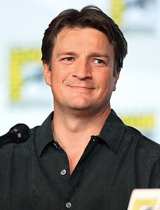 Nathan Fillion - Fillion at the 2012 San Diego Comic-Con International.