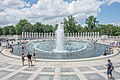 National World War II Memorial, Washington DC, July 2017.jpg