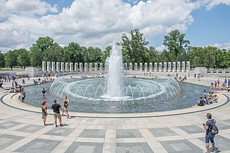 National World War II Memorial - Image: National World War II Memorial, Washington DC, July 2017
