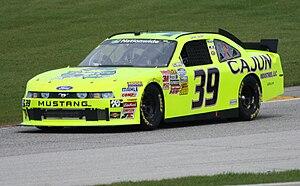Josh Wise - 2011 Nationwide car at Road America