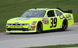 Josh Wise - 2011 Nationwide car at Road America