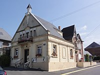 Nauroy (Aisne) mairie.JPG