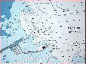 Nautical chart - Automatically labeled nautical chart