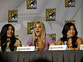 Naya Rivera, Heather Morris & Jenna Ushkowitz (4852451345).jpg